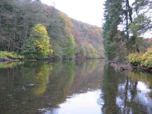 Noch ein Wupper Landschaftsbild im Herbst