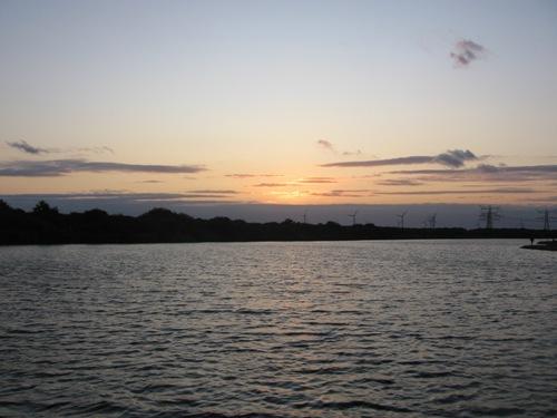 Abends in Oostvoorne Meer