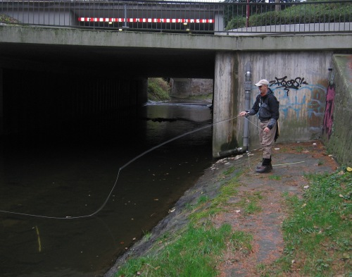 Cityflyfishing in Herford
