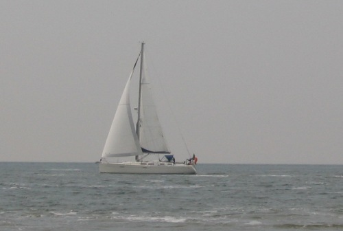 Segelschiff in Westkapelle