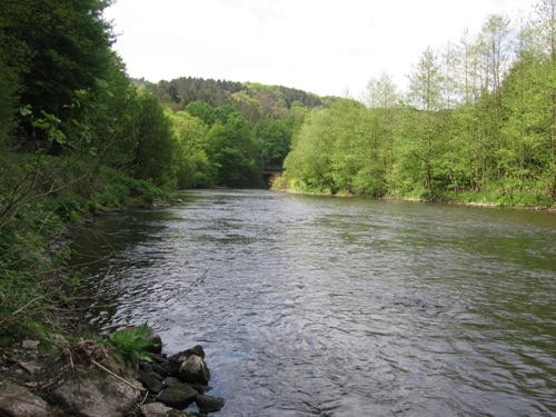 Wupper in Glüder